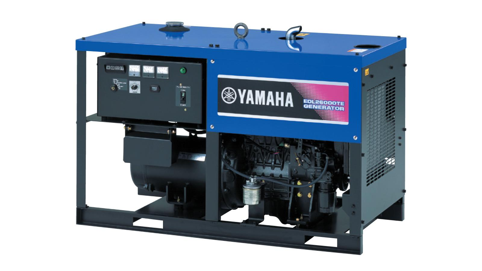 Дизельный генератор Yamaha-EDL26000TE