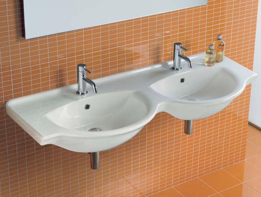 Двойные раковины для ванной
