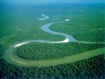 Река Нил. Вид сверху. Фото.