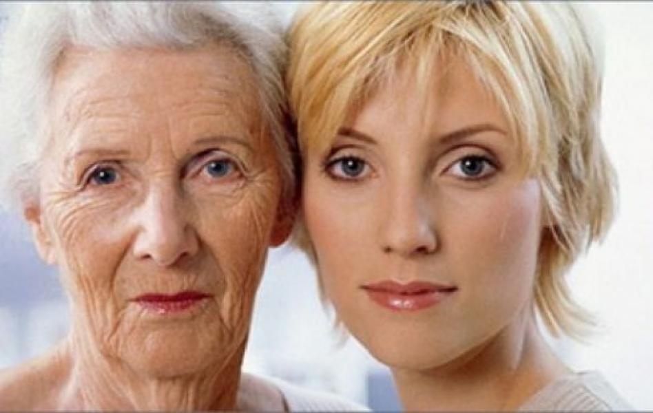 Старуха и девушка