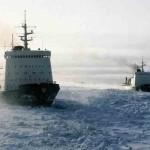 Ледоколы в Северном ледовитом океане