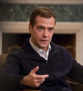 Медведев, премьер