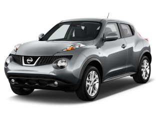 Nissan Juke на дорогах