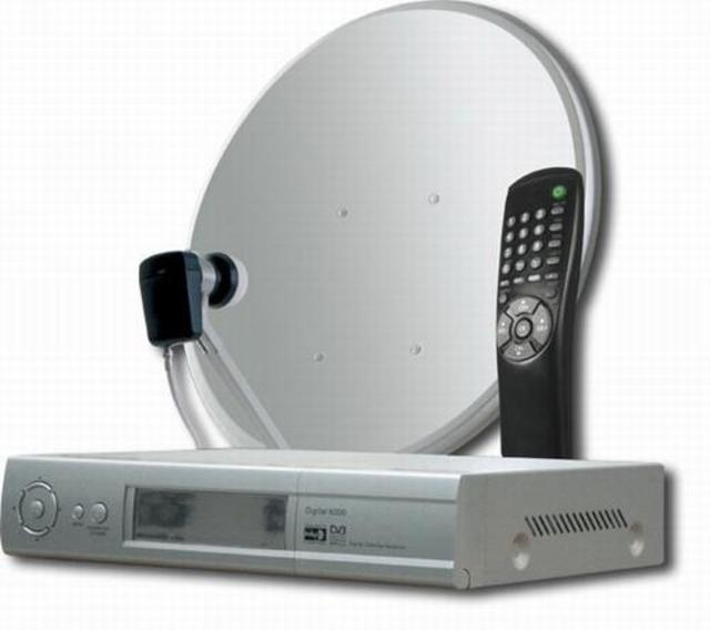 Спутниковое оборудование для телевизора