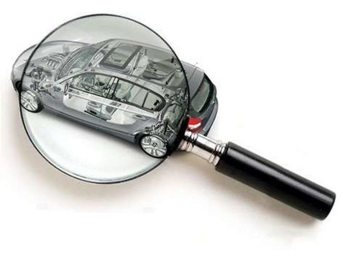Тщательный осмотр автомобиля