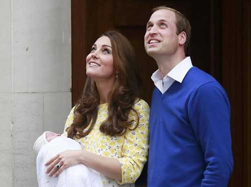 Герцогиня Кембриджская родила дочь